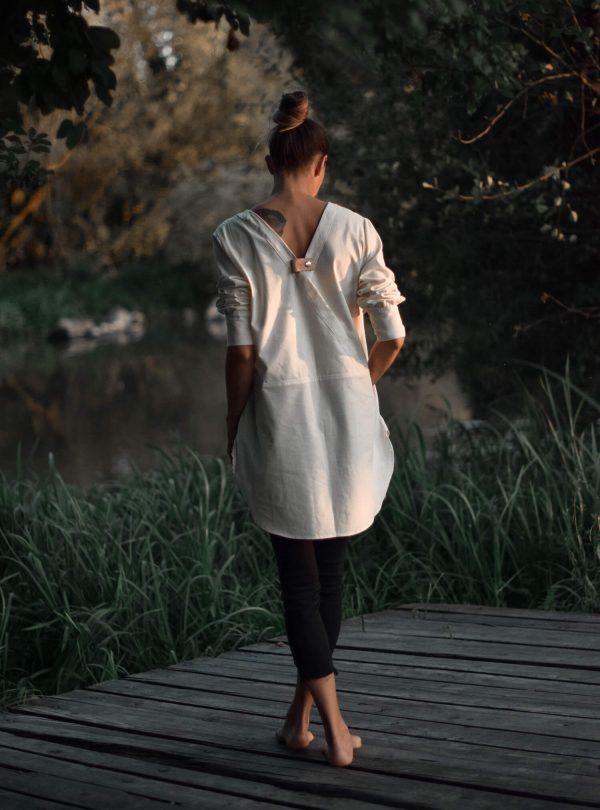bavlnená-košeľa-Lotus-Aruna balance-prírodná